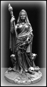 Hecate statue by Maxine Miller
