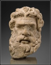 Head of Polyphemus. Greek or Roman, Hellenistic or Imperial Period, 150 B.C.