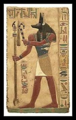 God Anubis , Guide into the Ancient Egyptian Afterlife.