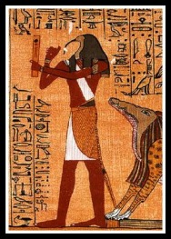 Thoth, Psychopomp and ruler of the Night.