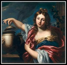 """Pandora"", by Nicolas Régnier. 17th century."