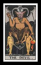 XV. The Devil (Major).