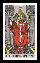 V. The Hierophant.