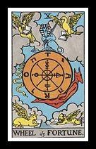 X. Wheel of Fortune.