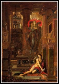 """Orestes and the Erynies"" by Gustave Moreau (1891)."