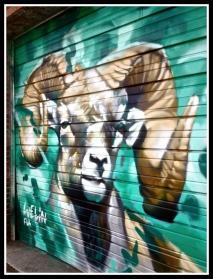 Mural: Goat. ©Resa McConaghy.