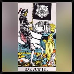 Major Arcana: XIII: Death.