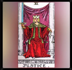Major Arcana. XI. Justice.