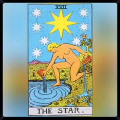 Major Arcana. XVII: The Star